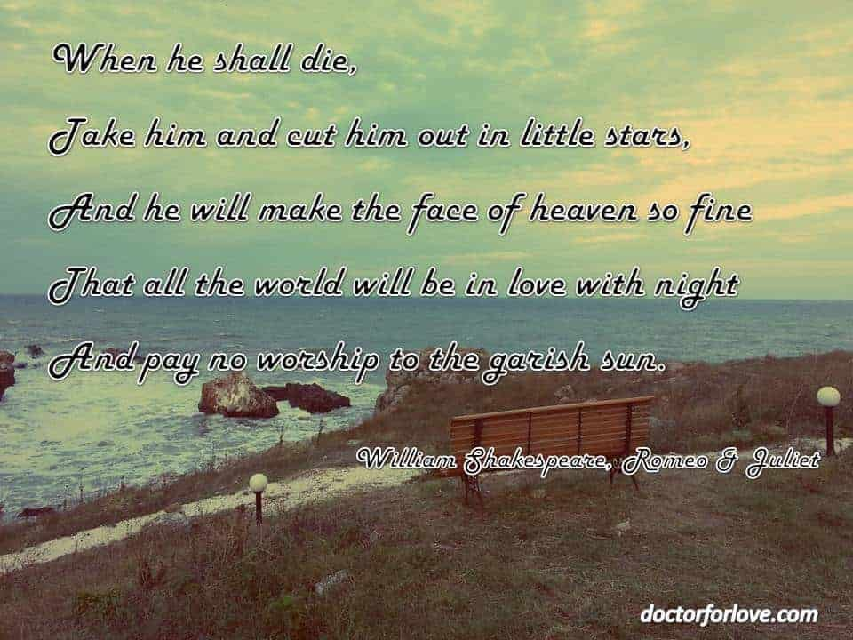 When he shall die...