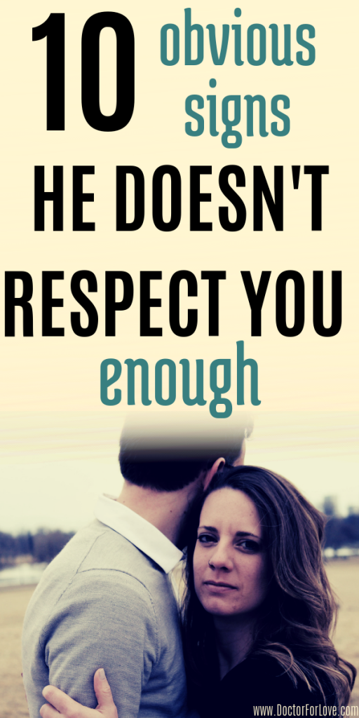 Are you respected by your partner? How to know if you are disrespected in your relationship? These are 10 obvious signs your partner doesn't respect you enough. If your loved one does one or more of these things, you should know you aren't respected in the relationship and you need to change something. Relationship problems/ relationship issues/ relationship advice/ signs of disrespect in a relationship/ Disrespect in a relationship
