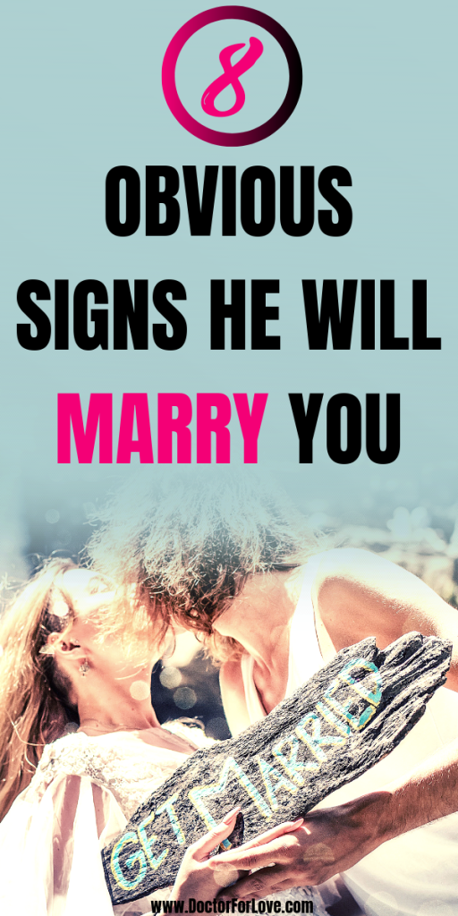 Want to know if he plans on marrying you? These 8 obvious signs he wants to marry you will tell you the truth. / Signs he will propose/ Signs he wants to marry you someday/