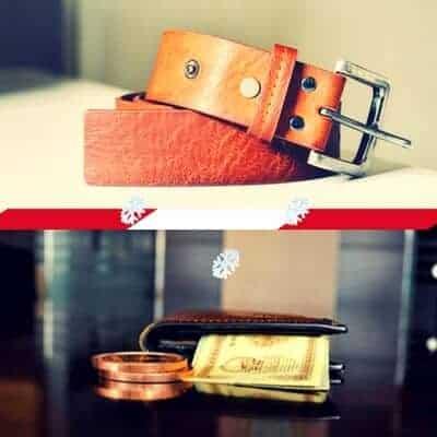 belt wallet Christmas git