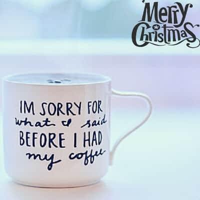 mug gift christmas present