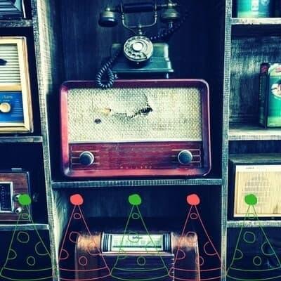 retro radio gift ideas christmas