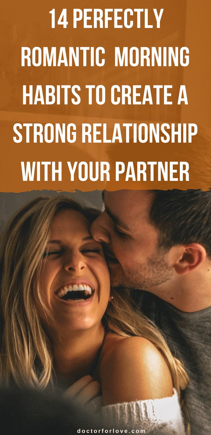 morning rituals habits couple successful relationship romantic