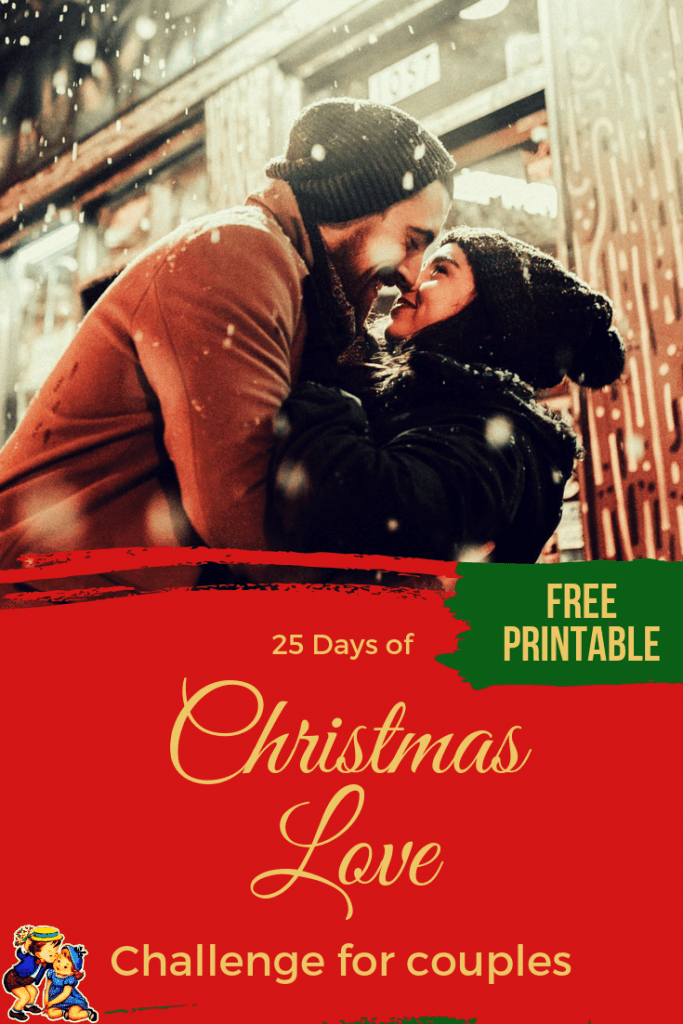 25 days of Christmas Love Challenge for married and in a relationship couples love Christmas