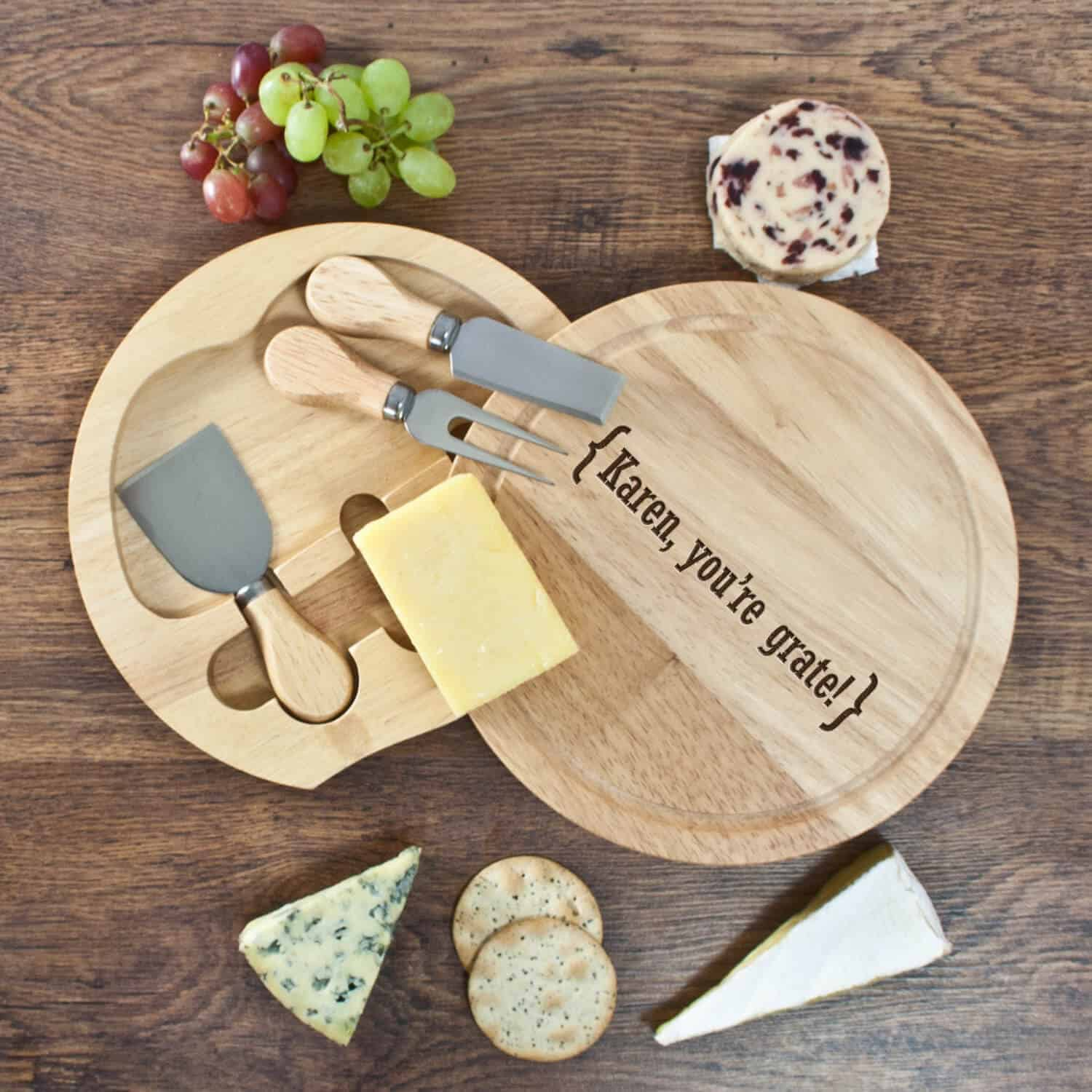 cheese board gift Valentine's Day Gifts For Him