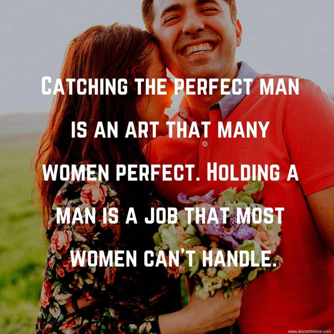 perfect man love