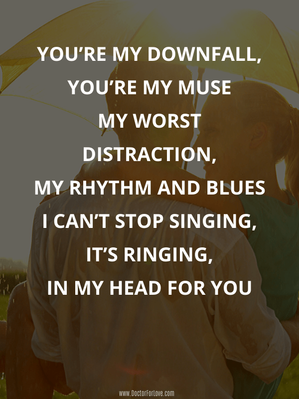 Most meaningful love song lyrics