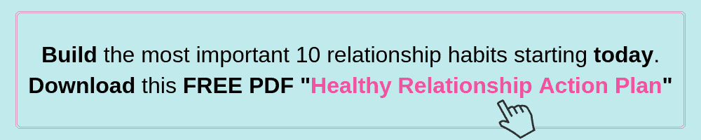 Healthy Relationship Action Plan