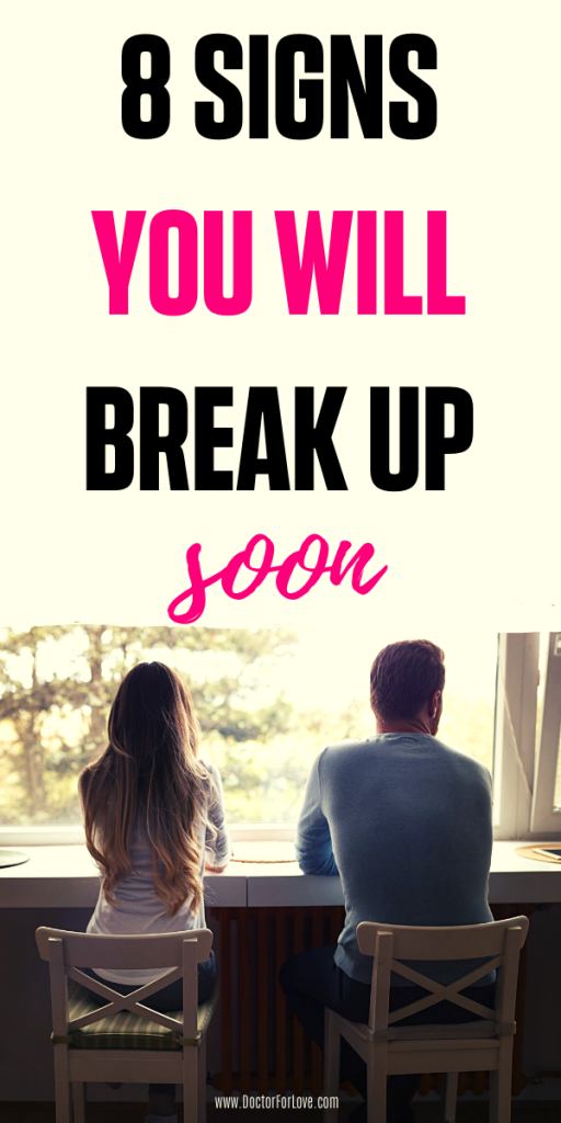 Obvious signs you will break up soon. Relationship problems/ Breakup signs