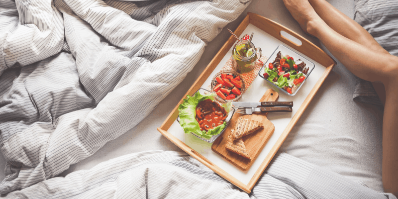 Practise mindfulness while having your breakfast