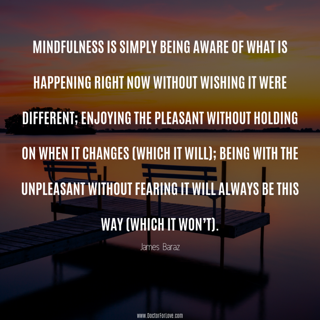 Jamez Baraz Mindful Quote