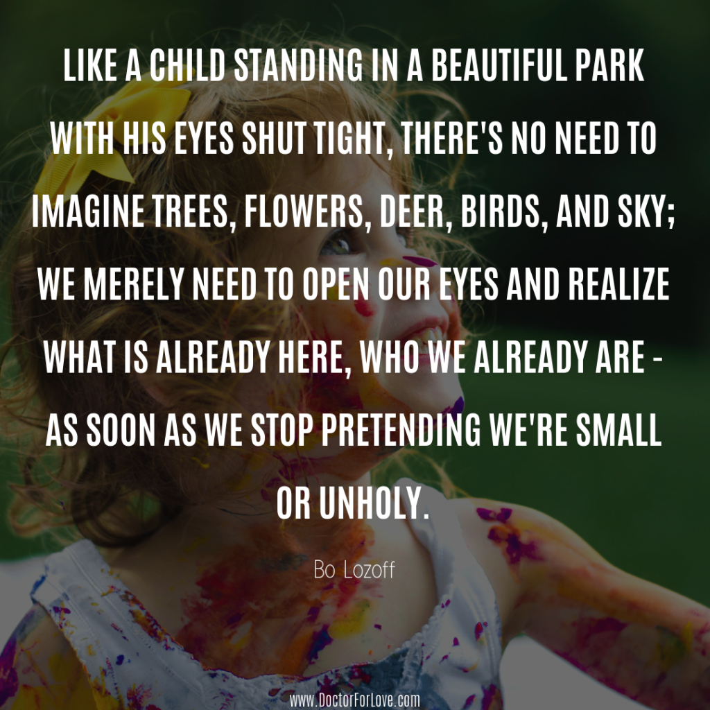 Like a Child in a Park