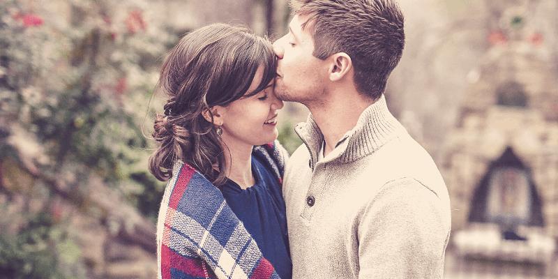 kiss and hug your partner every morning