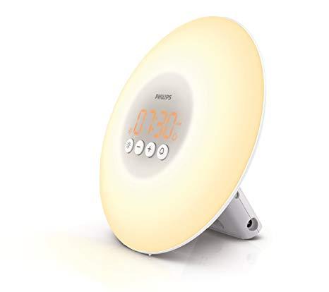 Philips Wake-Up Light Alarm Clock with Sunrise Simulation