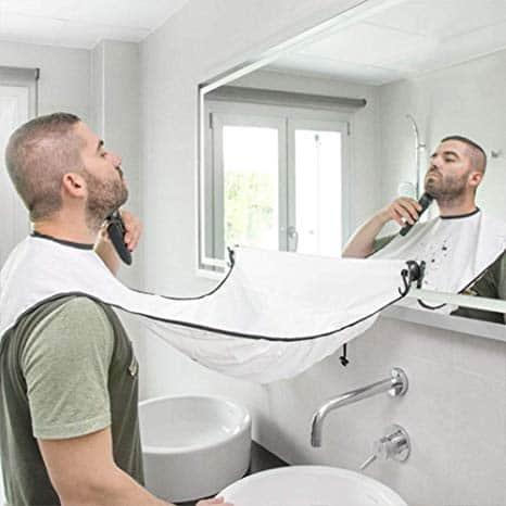 Beard Apron Cape Beard Trimming Bib for Men