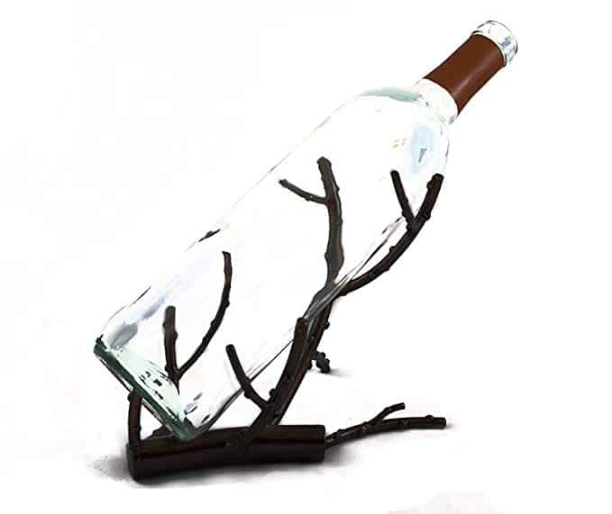 TheopWine Decorative Wine Bottle Holder, Wine Rack, and Wine Accessory