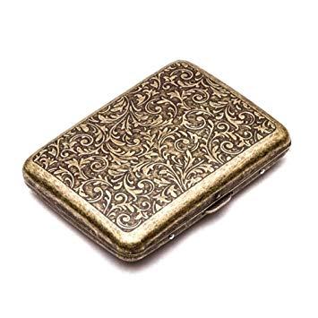 Retro Metal Cigarette Case Box