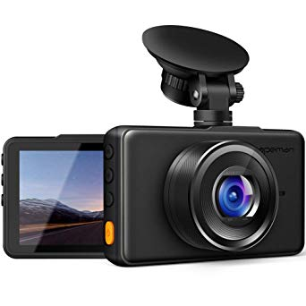 APEMAN Dash Cam 1080P FHD DVR Car Driving Recorder 3 Inch LCD Screen; Wide Angle, G-Sensor, WDR, Parking Monitor, Loop Recording, Motion Detection