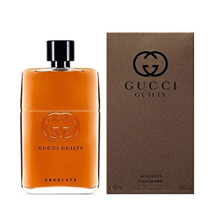 Ġućci Guilty Absolute Pour Homme Eau de Parfum Spray 3.0 OZ./ 90 ml.