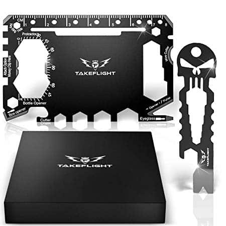 Credit Card Tool Gift Set - Tactical Pocket Tool Gadgets for Men