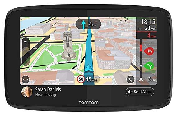 TomTom GO 620 6-Inch GPS Navigation Device with Free Lifetime Traffic Maps