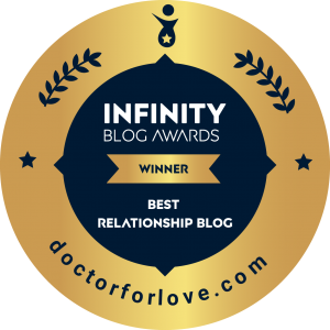 Infinity Blog Awards Best Relationship Blog Badge