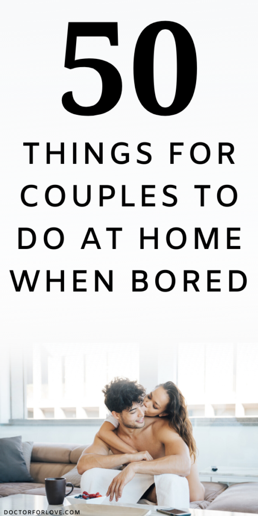 Awesome at-home date ideas for couples stuck at home. Things for couples to do at home when bored/ Relationship goals/ Relationship tips/ Relationship ideas/ Romantic tips for couples/ Happy couples tips