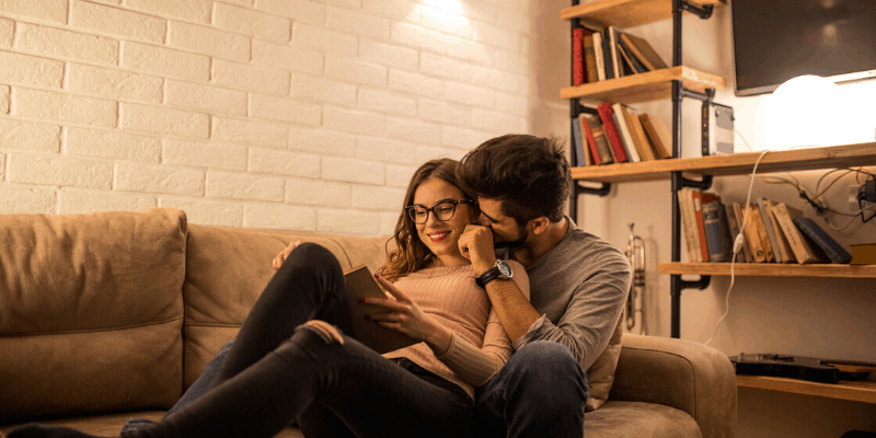 Intentionally check in with your partner