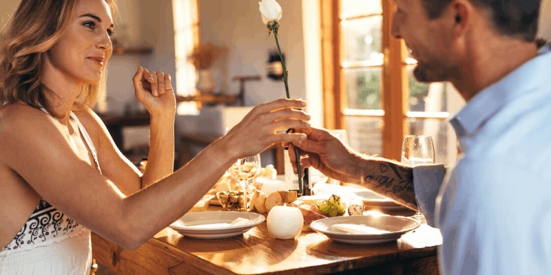 Plan weekly date night even when you are stuck inside together