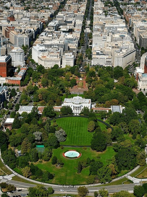 landscape of Washington Dc