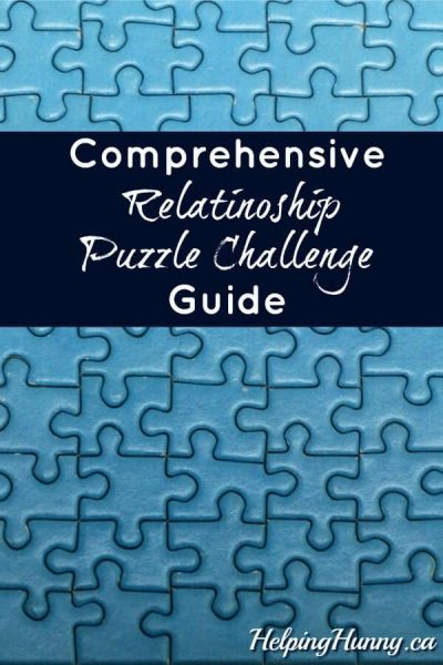 relationship puzzle challenge COVER